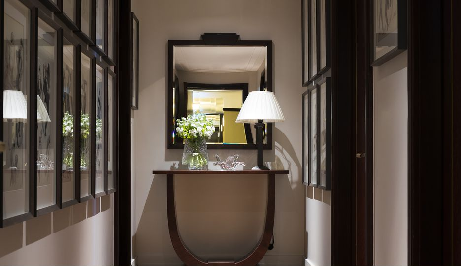 The Terrace Suite at The Beaumont Hotel in London