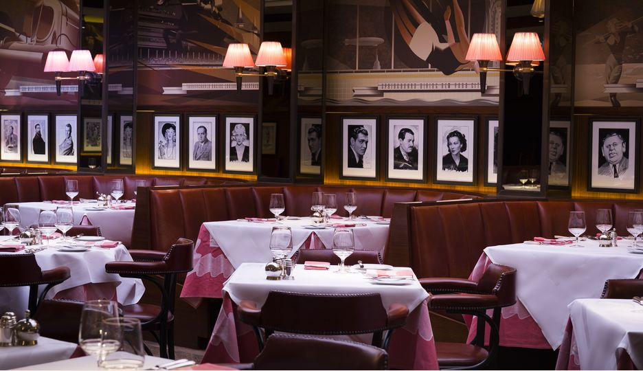 The Colony Grill Room at The Beaumont Hotel