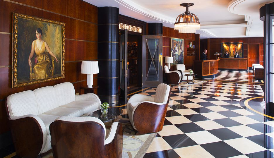 The Beaumont Hotel's Lobby