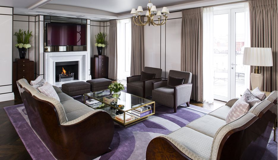 The Presidential Suite at The Beaumont Hotel