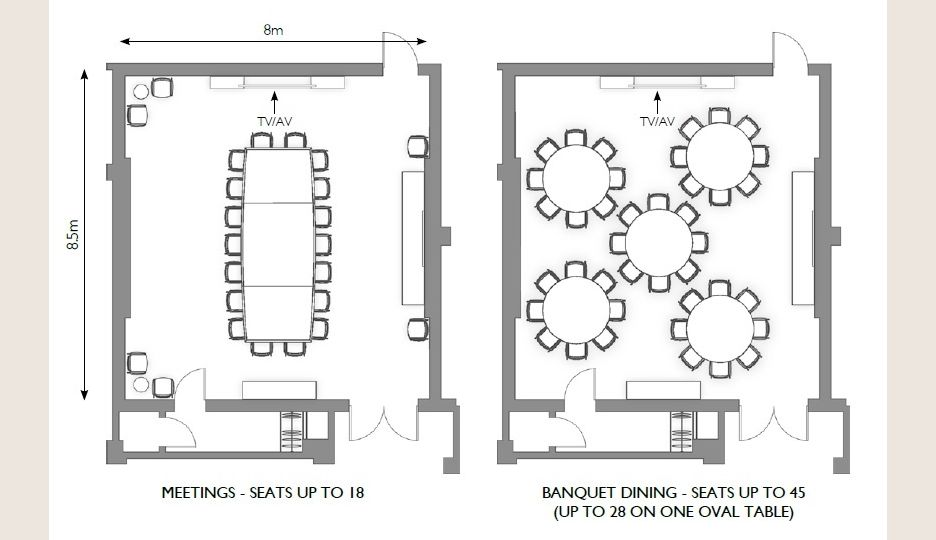 Equinox Private Dining Room Floor Plan In Mayfair The Lotos At Beaumont