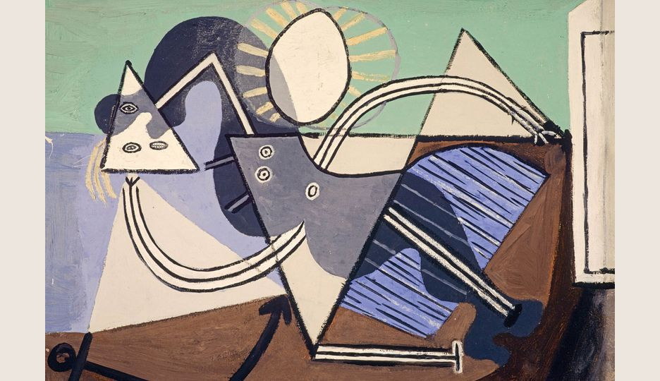 Woman on the beach. The EY Exhibition: Picasso 1932 - Love, Fame, Tragedy.