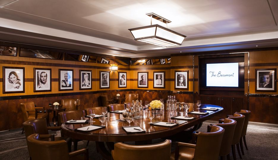 Meetings at The Beaumont Hotel in London