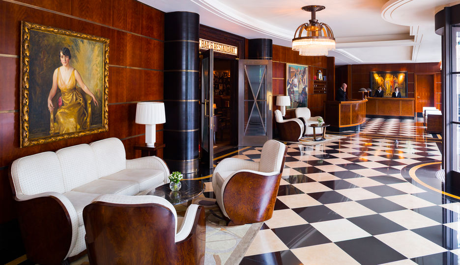 The Lobby at The Beaumont