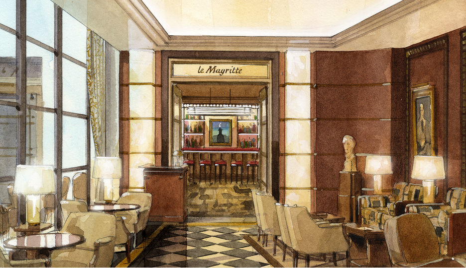 Le Magritte Bar at The Beaumont