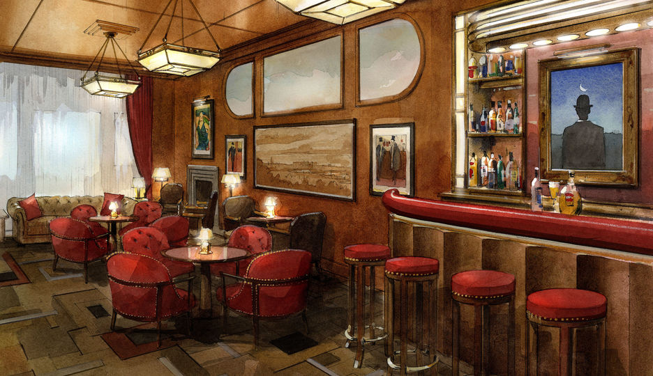 Le Magritte Bar at The Beaumont is an American Bar.