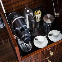 Rooms are equipped with coffee machines
