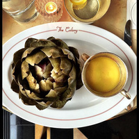 Artichokes in The Colony Grill Room
