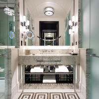 A classic bathroom at The Beaumont in London