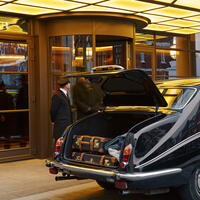 The Beaumont Vintage Daimler in London
