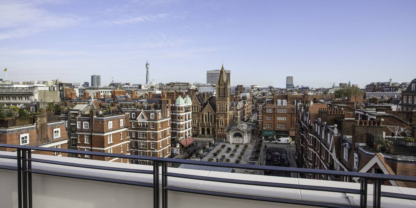 Views of Mayfair & Brown Hart Gardens