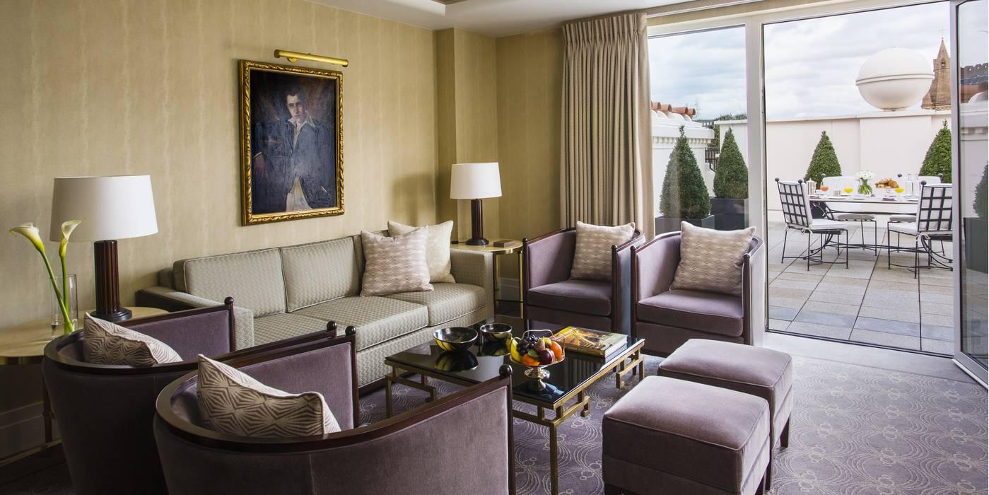 The Beaumont Hotel's Terrace Suite
