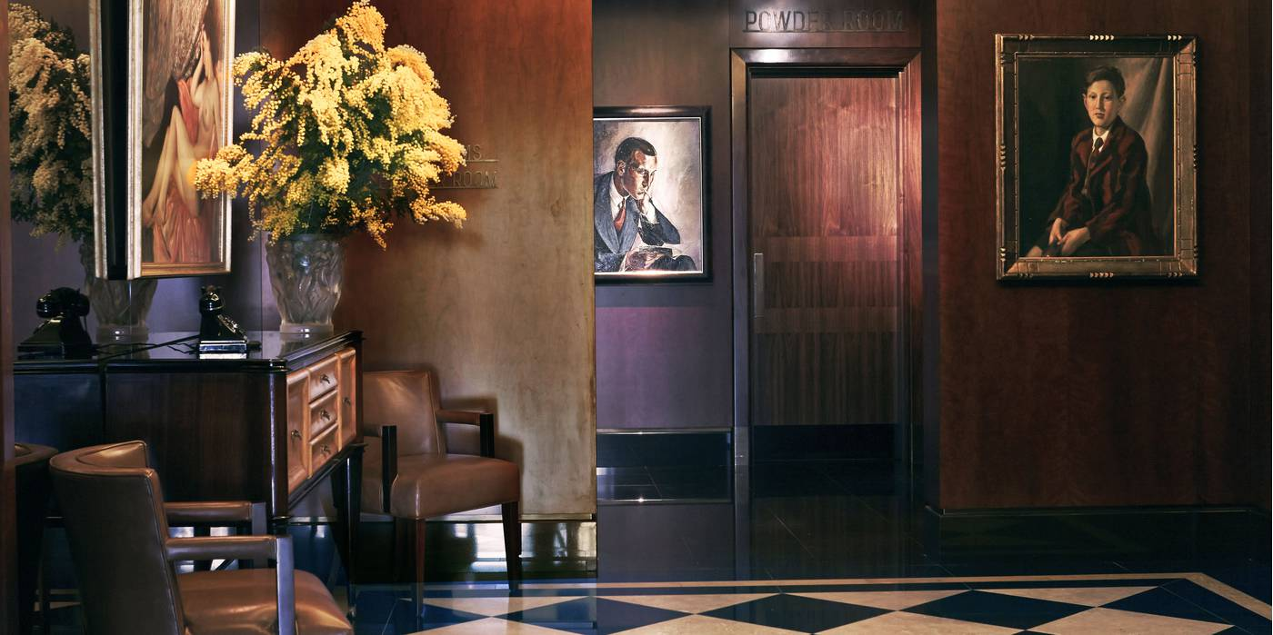 The Beaumont Hotel's Art Deco interiors