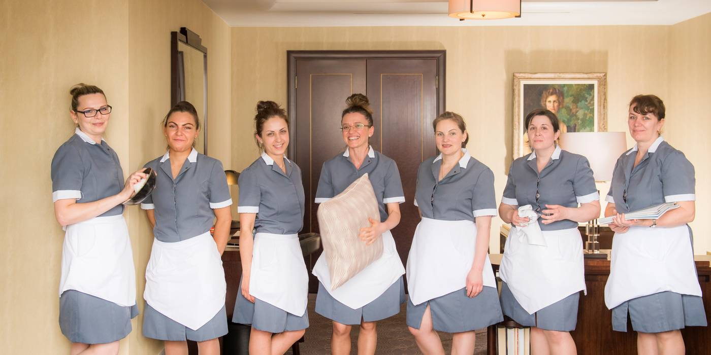Housekeeping at The Beaumont Hotel