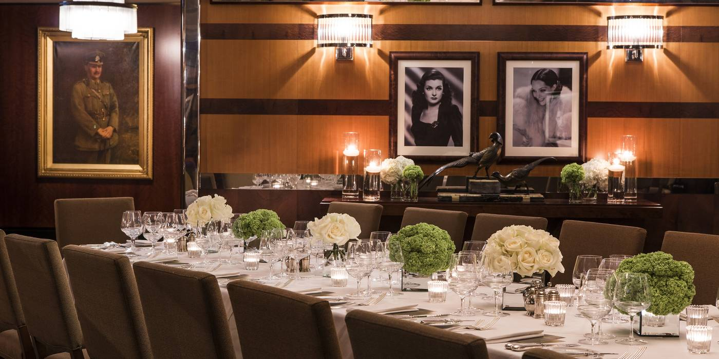 Private Dining in Mayfair | The Beaumont Hotel