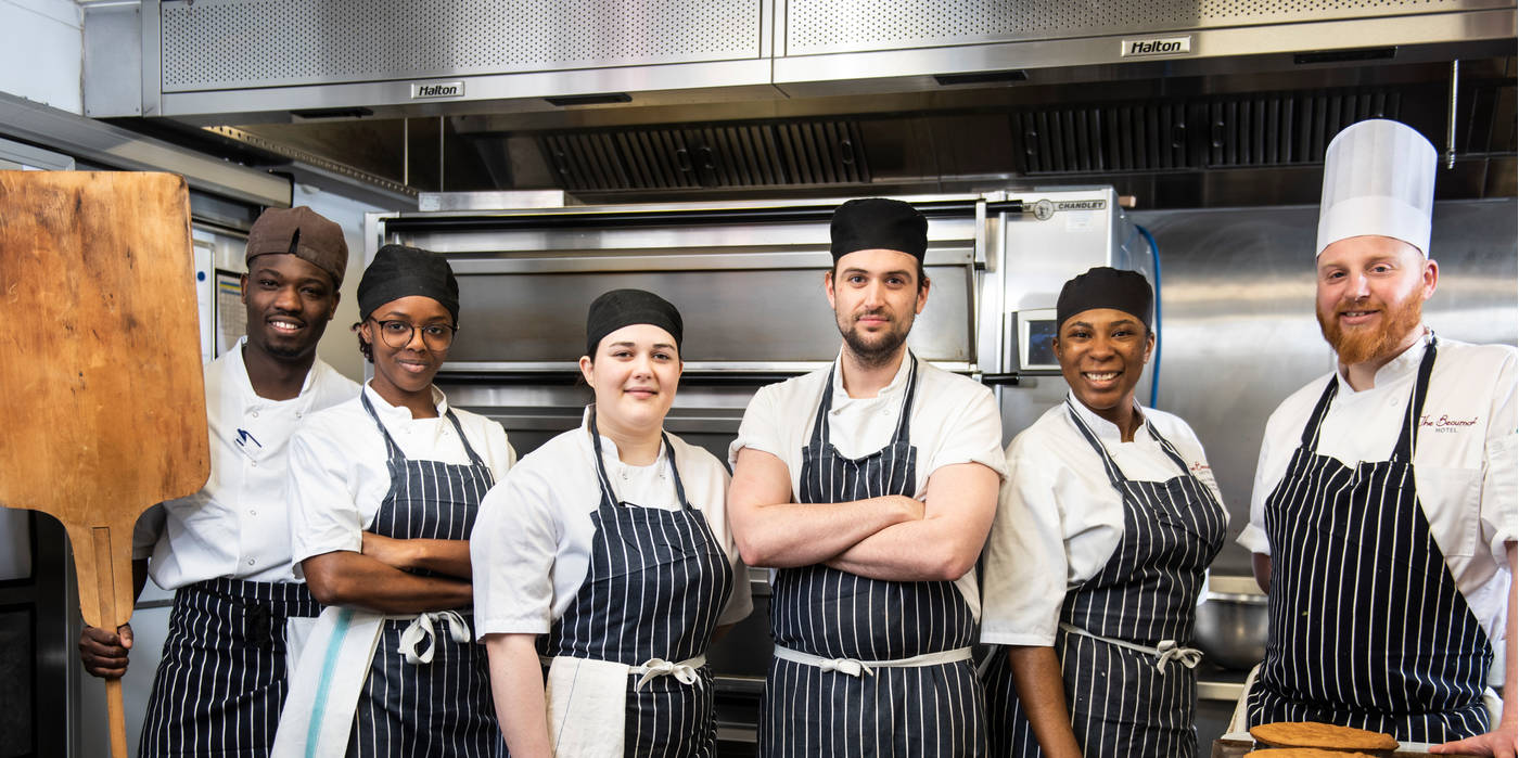 Chefs at The Beaumont