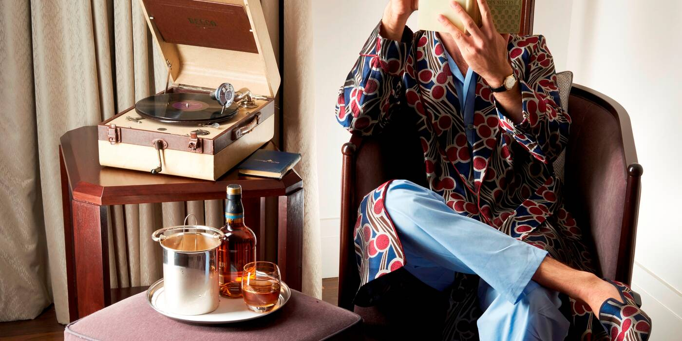 The Jimmy Beaumont Luxury Loungewear Collection