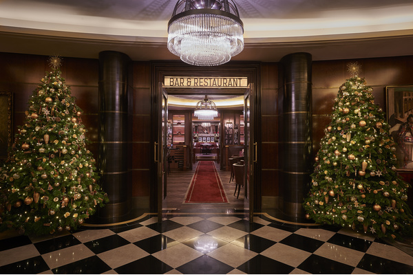 Christmas at The Beaumont Hotel in London