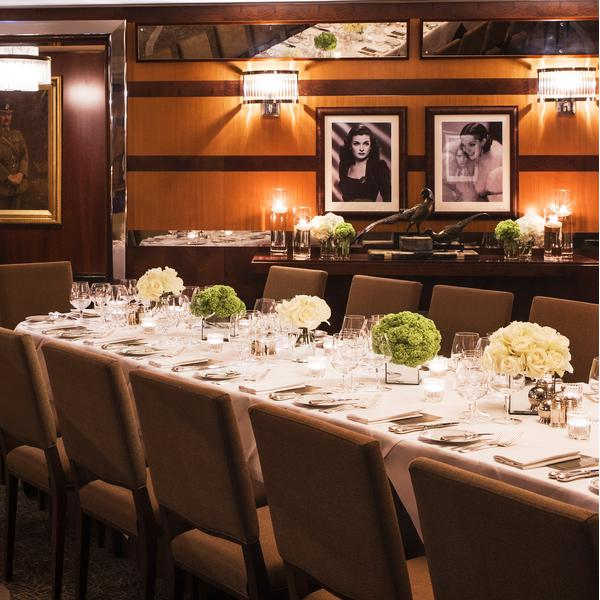 Private Dining Room at The Beaumont Hotel