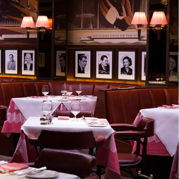 The Colony Grill Room at The Beaumont Hotel, London