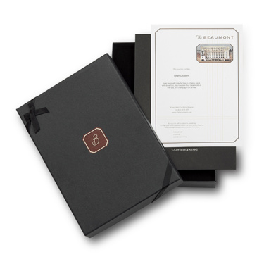 Luxury Hotel Gift Vouchers   The Beaumont Hotel, London